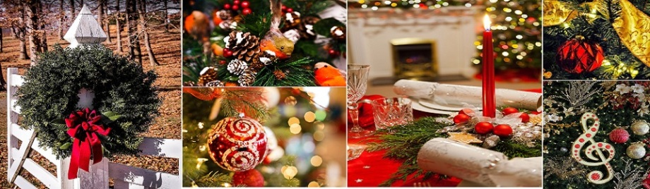 Bespoke Christmas Trees, Wreaths and Garlands, year-round Christmas Decor service