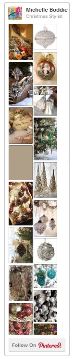 Christmas Stylist, Michelle Boddie's Pinterest Board (image of)