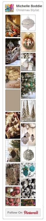 Christmas Stylist, Michelle Boddie's Pinterest Board (image of)