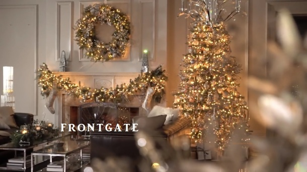 Exquiste Frongate.com Holiday 2016 Decor featured in video