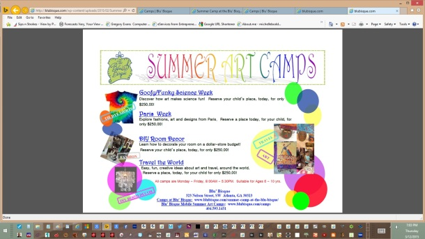 bisqueart-service-flyer-2-as-pdf-for-bb-summer-camp-2015-by-michelle-boddie-website-designer-editor
