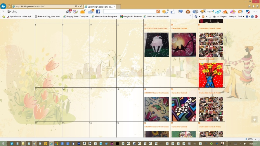 page-calendar-text-copy-images-links-updated-by-michelle-boddie-website-designer-editor-e