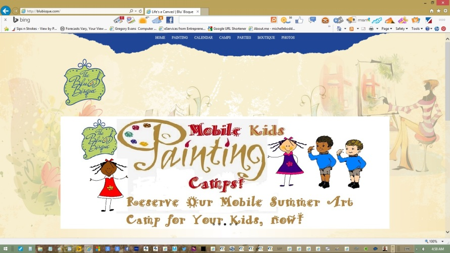 page-home-banner-slider-summer-camp-by-michelle-boddie-website-designer-editor