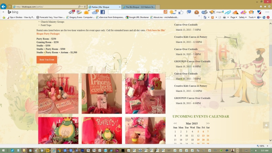 page-parties-text-copy-images-links-created-updated-by-michelle-boddie-website-designer-editor-b