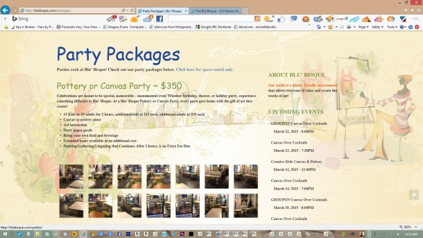 page-party-packages-text-copy-images-olive-headers-links-created-updated-by-michelle-boddie-website-designer-editor-b