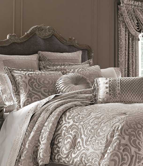 J. Queen New York Sicily Damask Chenille Comforter Set from Dilliard's