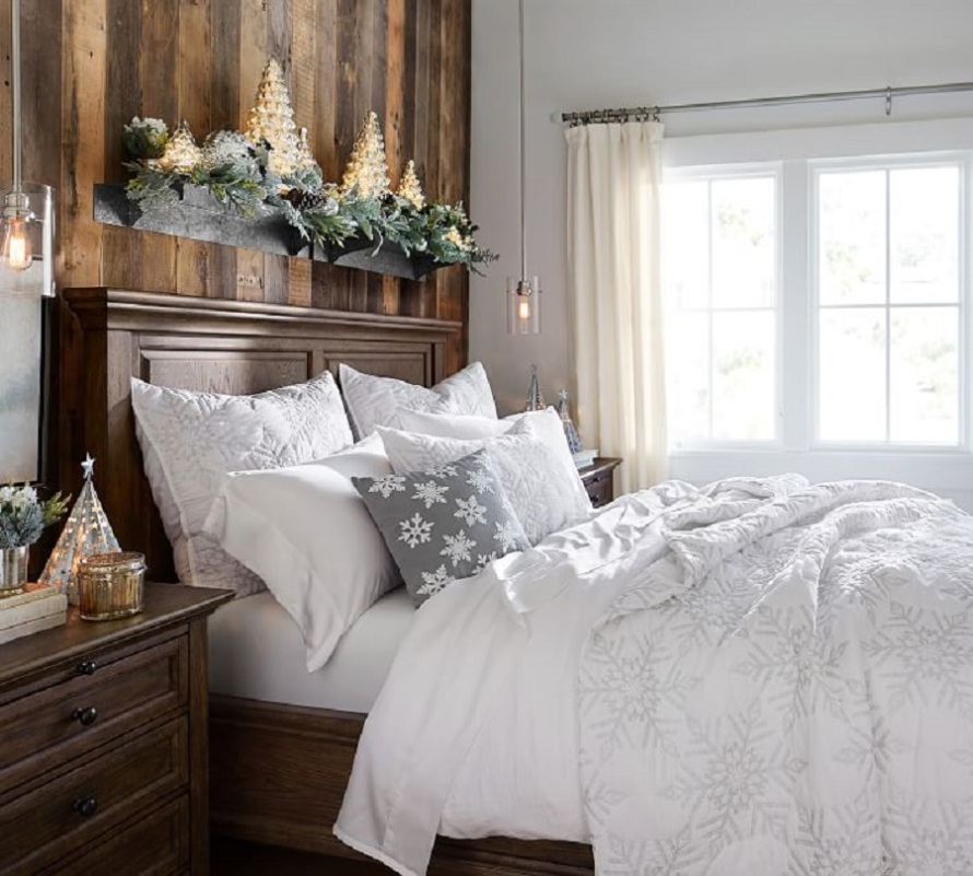 Karly Snowflake Coverlet Sham from Pottery Barn