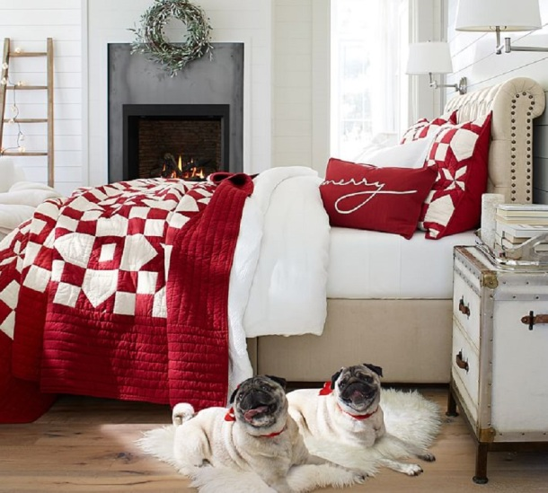 Patchwork Star Quilt, from Pottery Barn