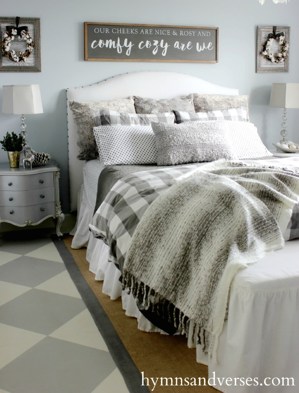 Doreen Cagno's Hymns & Verses Comfy, Cozy Winter Bedroom