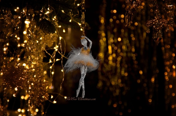 ballerina ornament, Christmas tree ornament